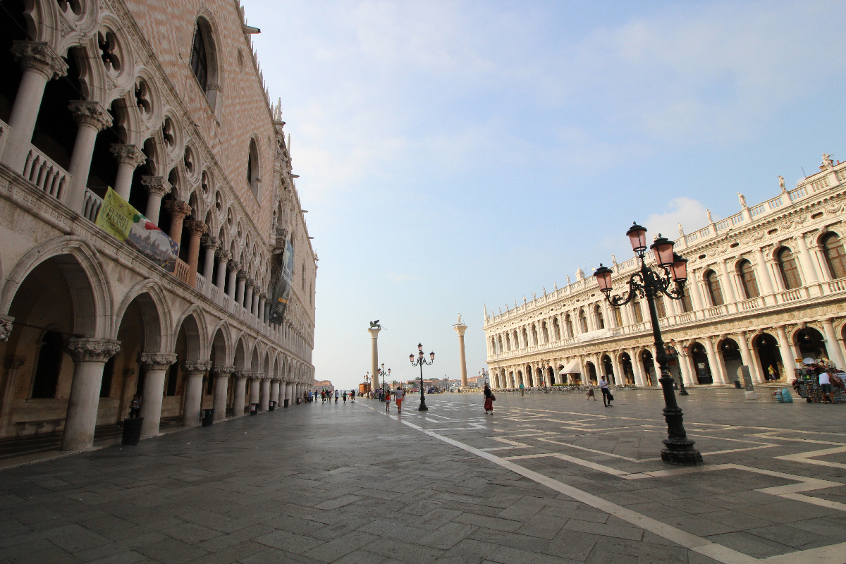 St. Mark`s Square in Venice