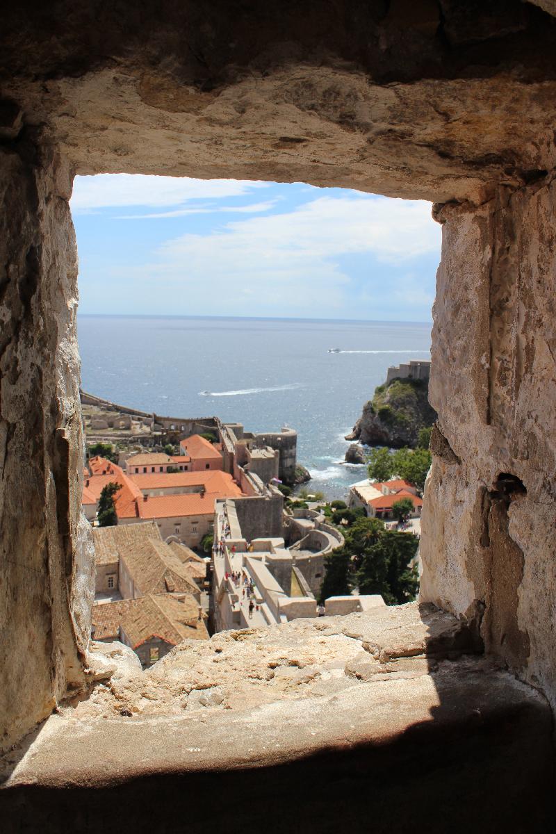 Dubrovnik in a frame
