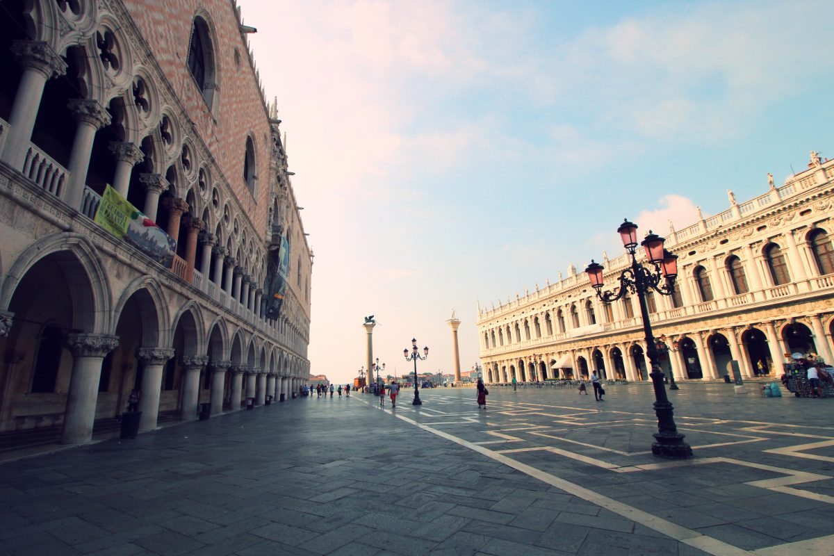 St. Mark`s Square in Venice