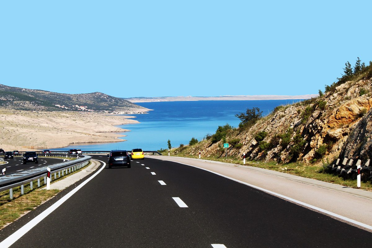 The road to Dalmatia