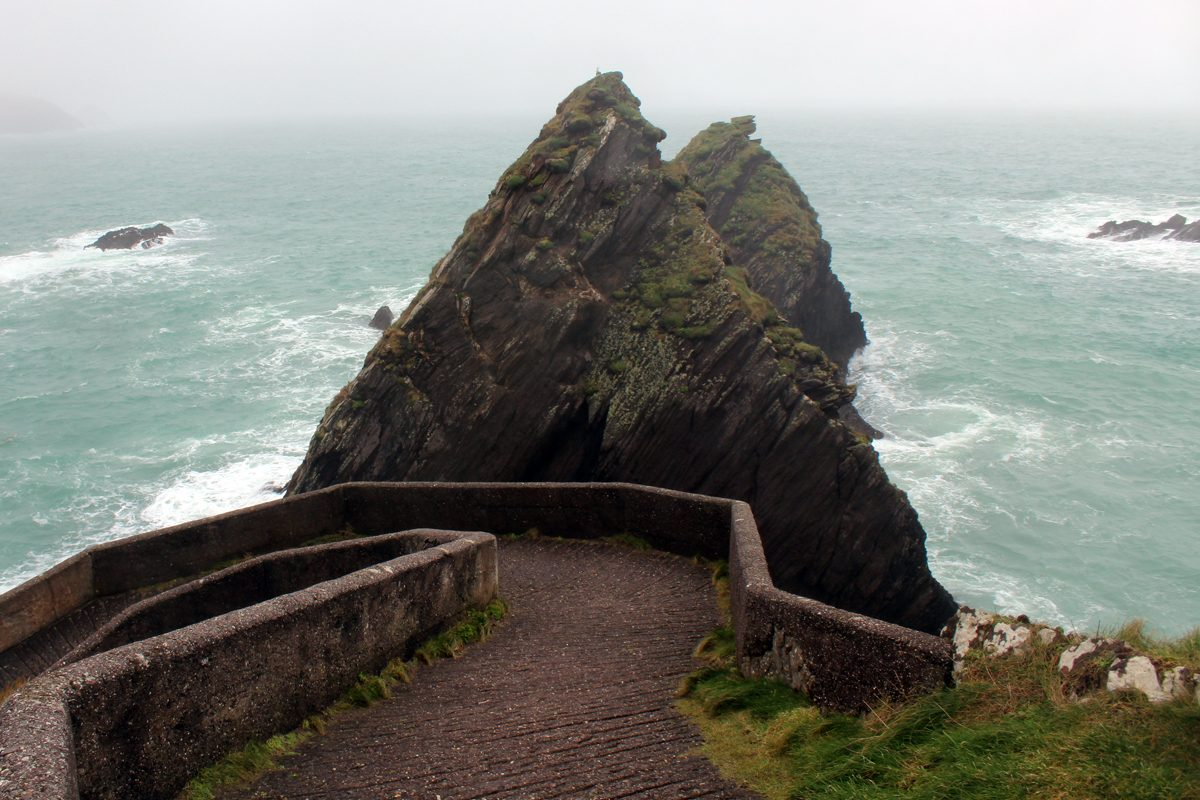 The Slea Head Drive in Ireland