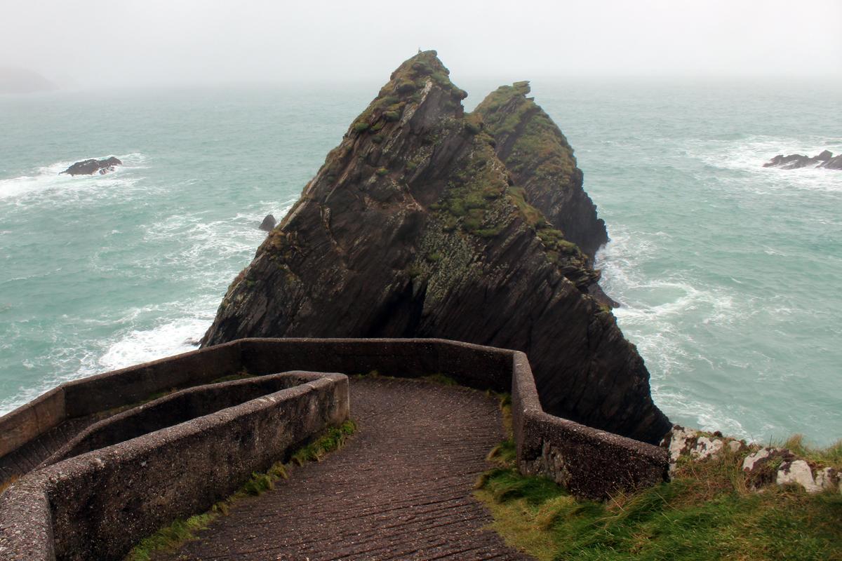 The Slea Head Drive in Ireland