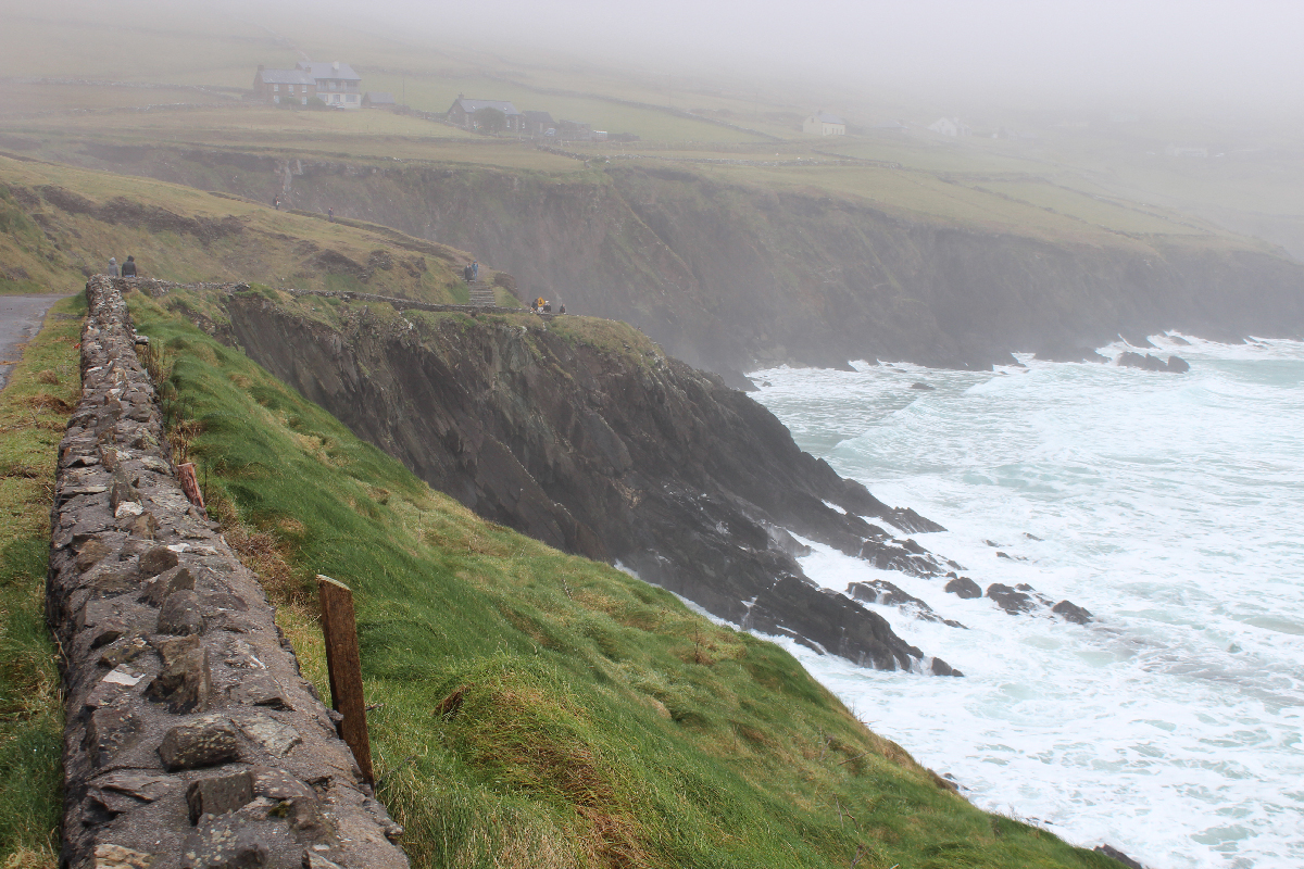 Stormy weather in Ireland