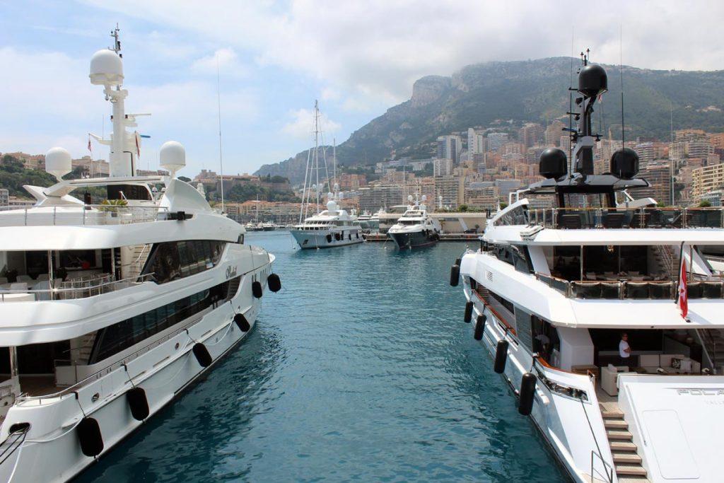 Yacht harbour in Monaco