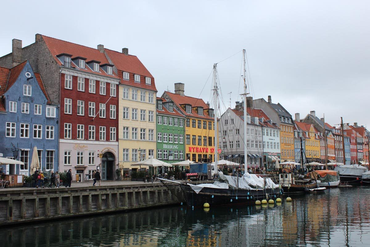 Kopenhagen city center