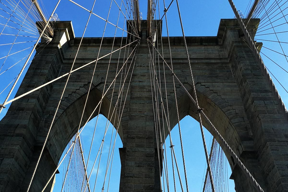 Details from Brooklyn bridge