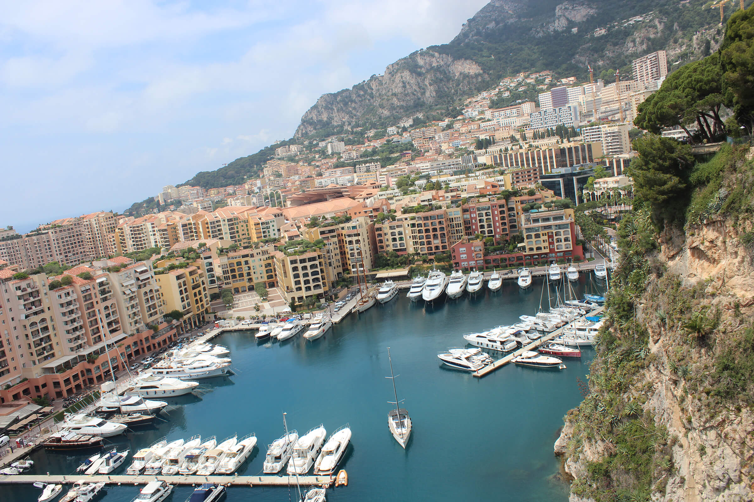 Monaco city center