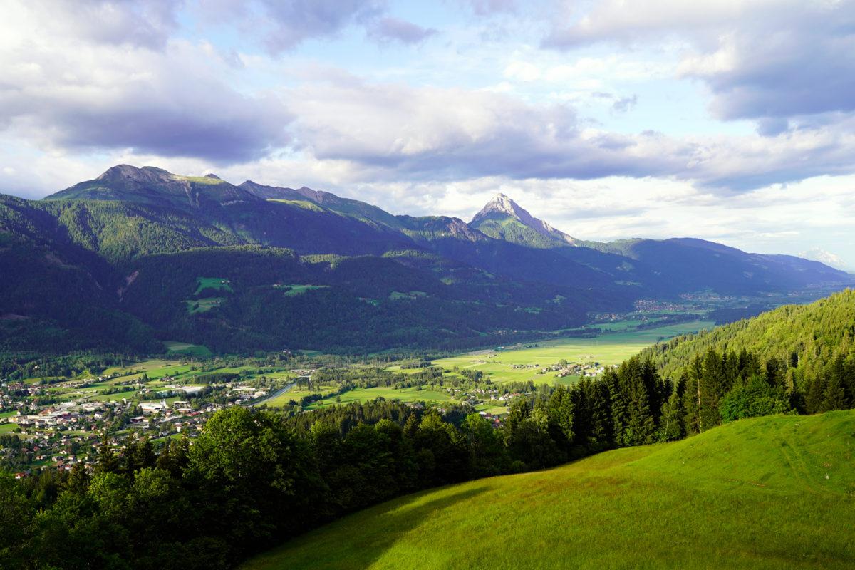 Koetschach Mauthen view