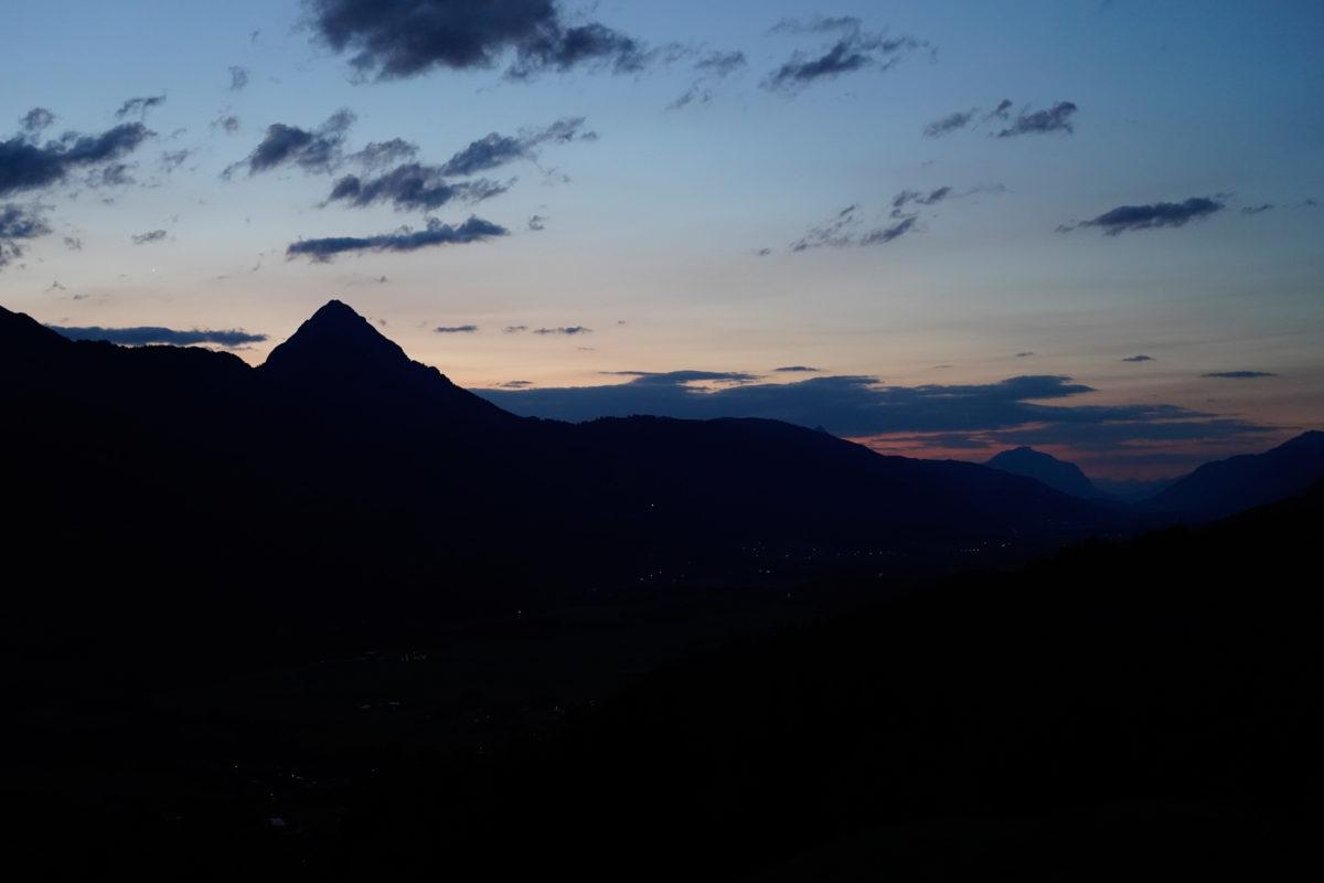 Koetschach-Mauthen sunrise