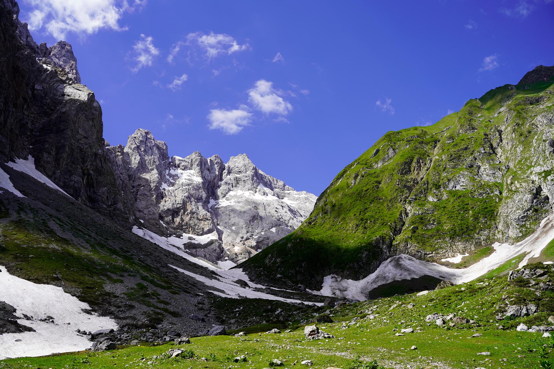 Mountain ranges Carinthia