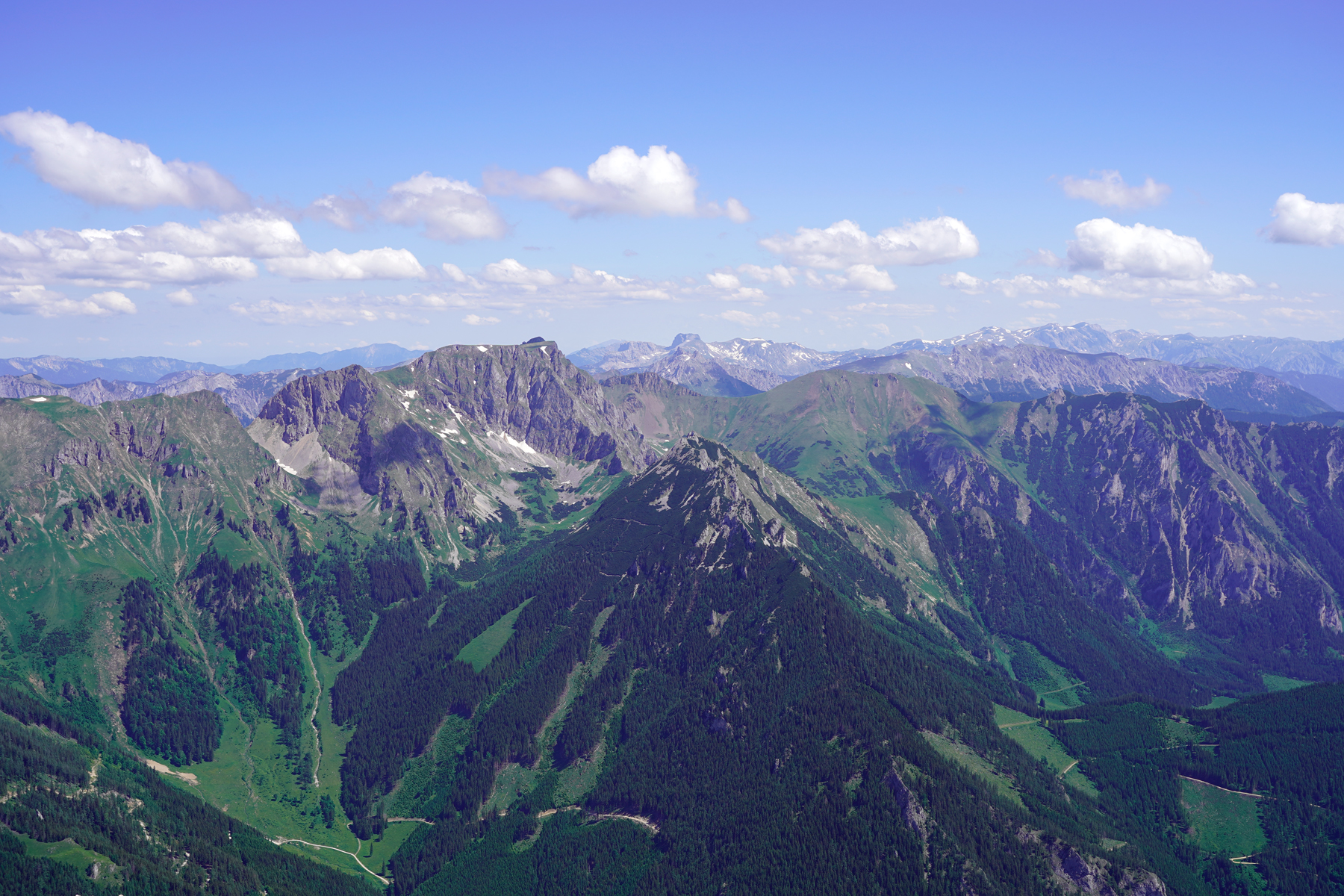 Panoramic view from Reiting