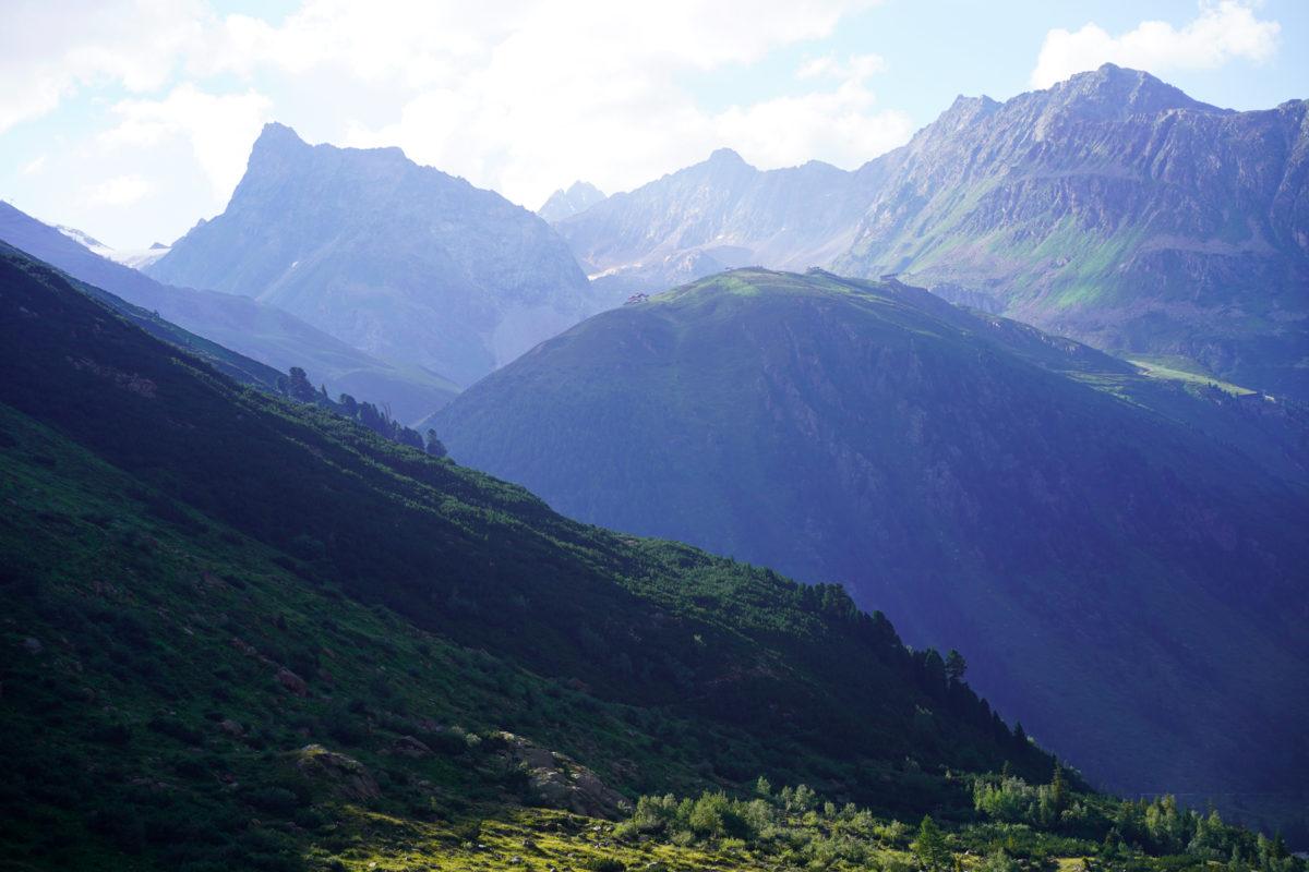Pitztal mountain scenery