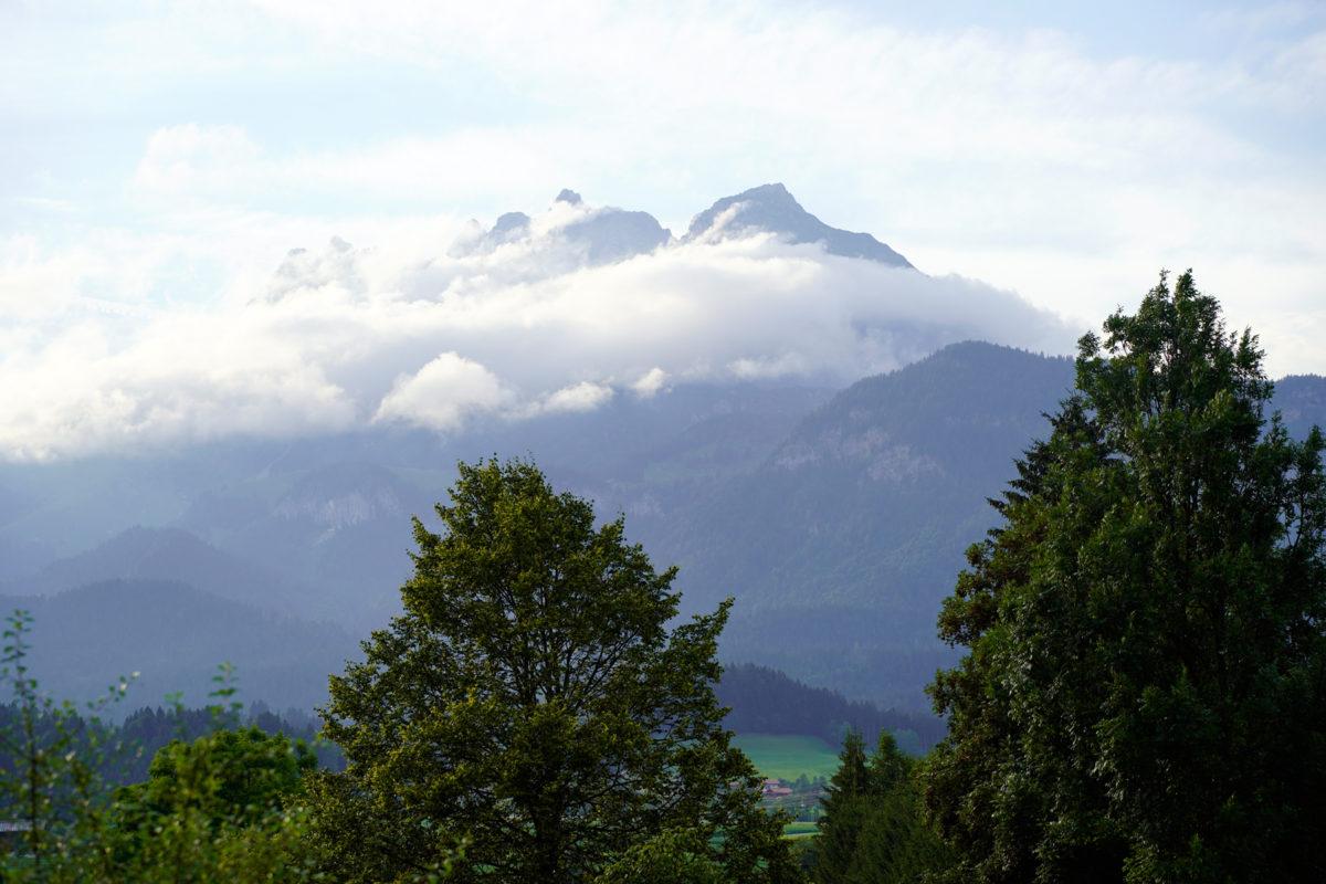 View of Wilder Kaiser