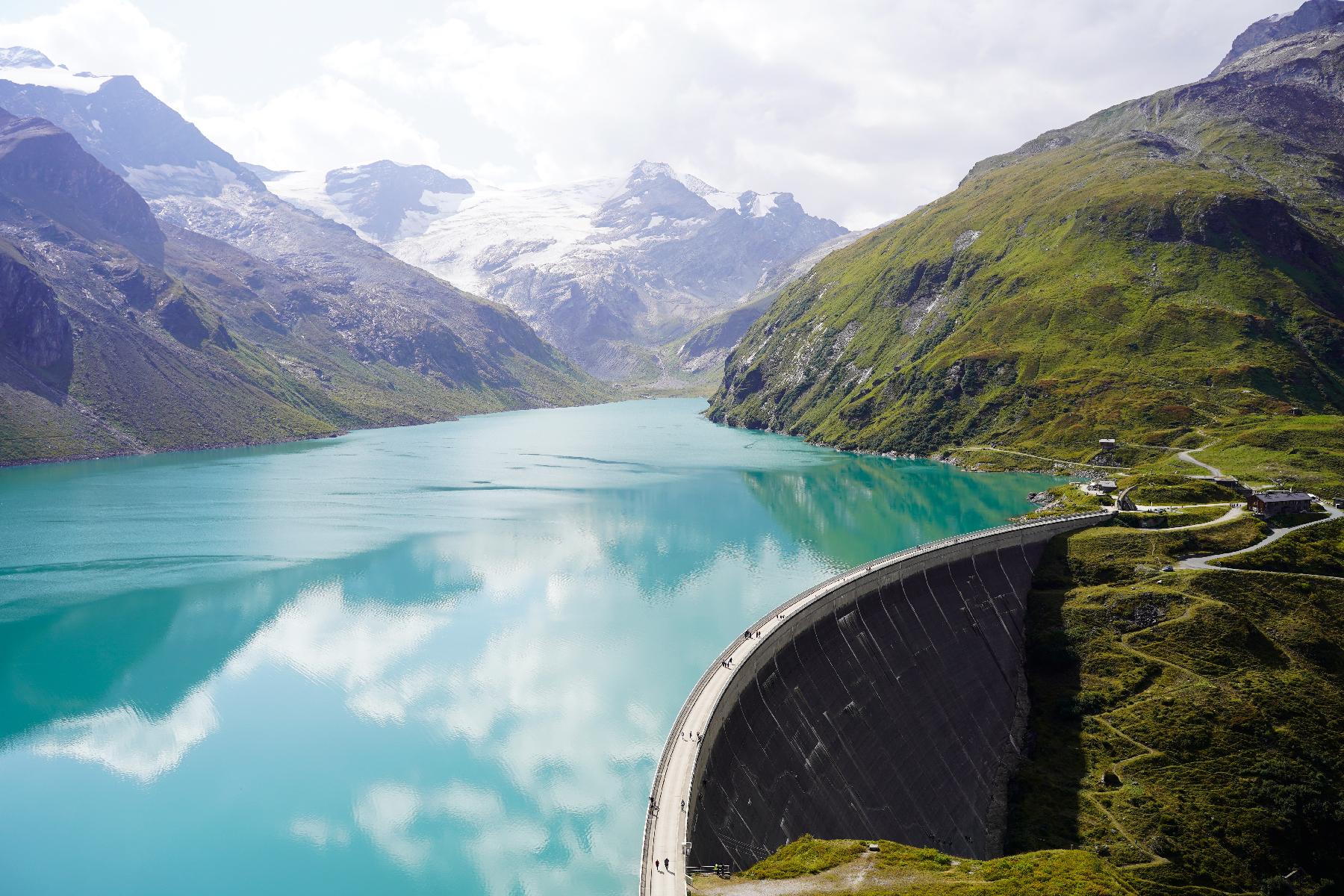 Artificial Lake Mooserboden