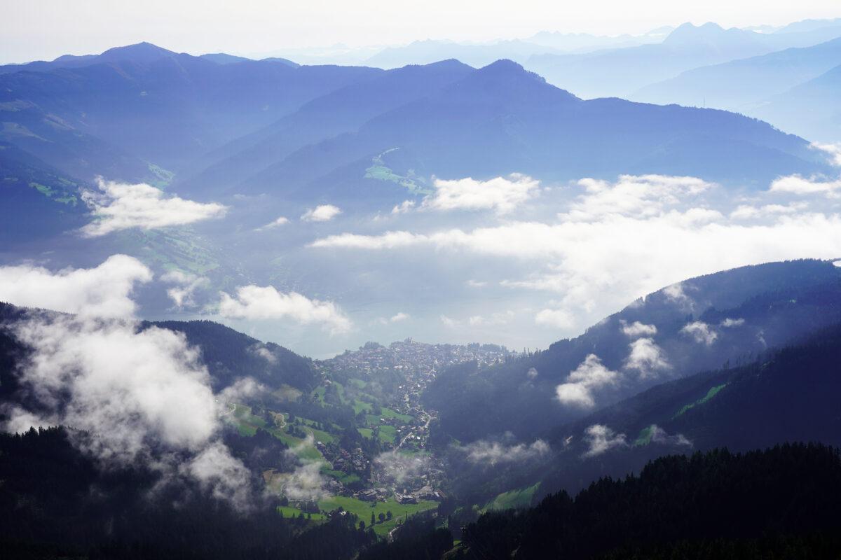 View from Schmittenhoehe